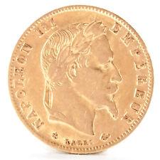 5 Francs Frankreich Napoleon III 1868 Gold Münze France coin Pièce de monnaie