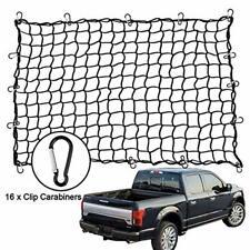 """Black Bungee Cargo Net 72/""""x96/"""" 18 Hooks pick up truck"""