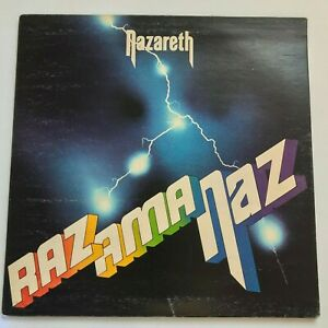 NAZARETH-Razamanaz-1973-Vinyl-LP-Album-Hard-Rock-Mooncrest-VG-VG