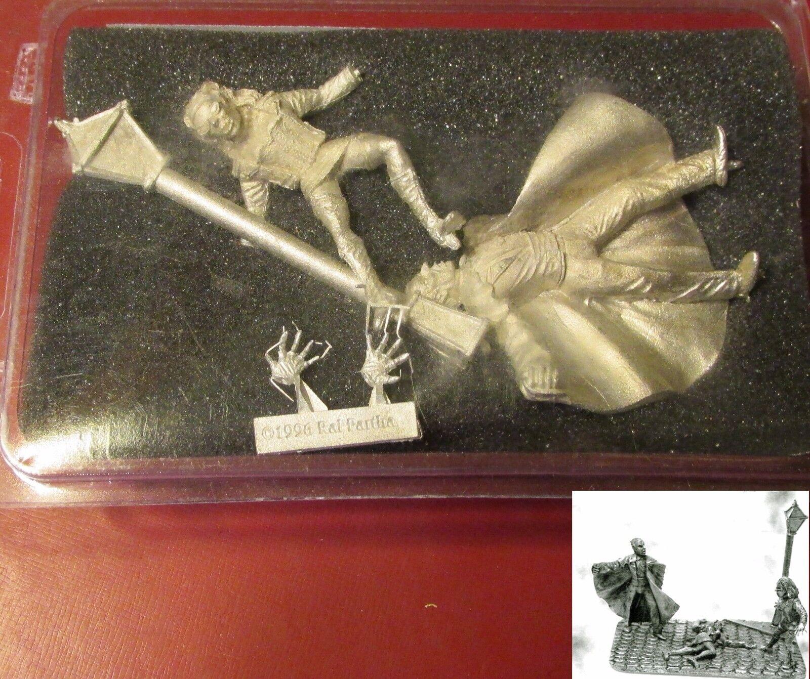 Ral Partha 10-672 Vampire Culture Clash Horror Vignette Elder vs Female Punk NIB