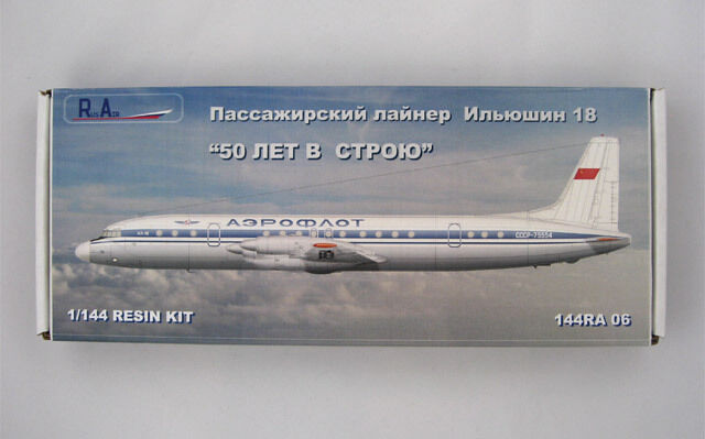 1 144 PAS-Models. Rus-Air. Ilyushin il-18
