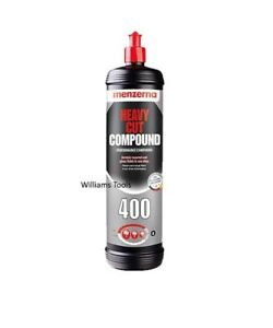Menzerna 400 Heavy Cut Polishing Compound 250ml Car Van Detailing