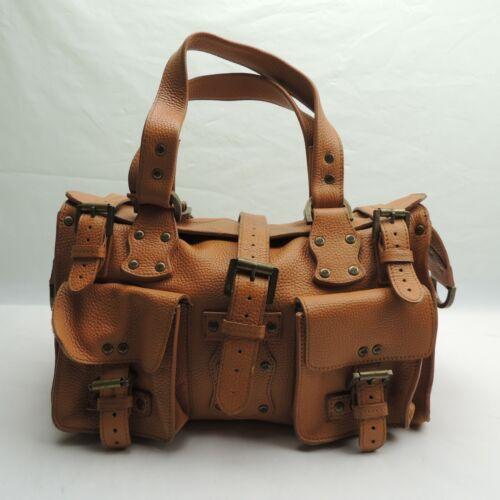 Mulberry Vintage Roxanne Cognac Leather Satchel Sh