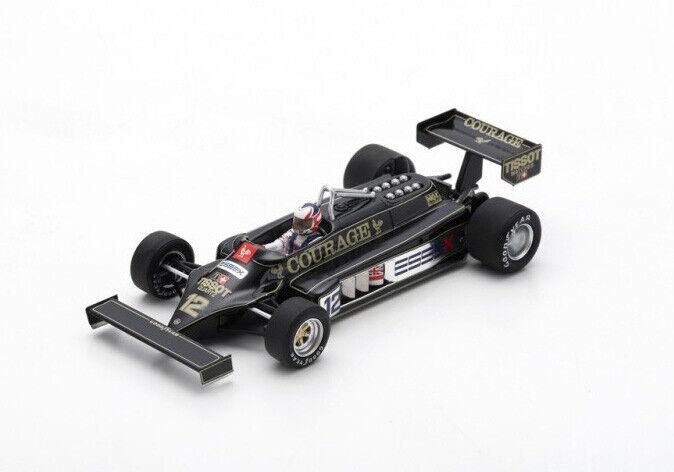 Spark Model 1 43 s5351 Lotus 87  F.1  12 Practice British GP 1981 Mansell nouveau  le prix le plus bas