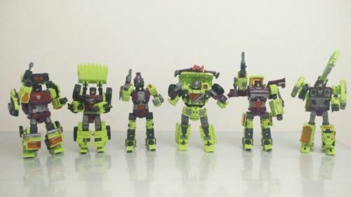 NBK Devastator NEW Transformers Transformation Boy Toy Oversize Action Figure