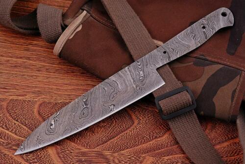 4246#2 Damascos cuchilla Damascus Blank veta de nuevos cuchillo de cocina