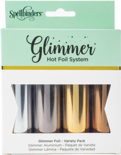 Glimmer Foil Variety Pack-Essential Metallics GLF040