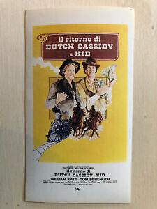Freundlich Poster Plakat Aufkleber Sticker 1979 Berenger Il Ritorno Di Butch Cassidy & Kid Bequem Und Einfach Zu Tragen Filme & Dvds Aufkleber & Sticker