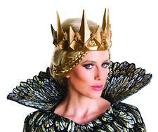 Evil Queen Ravenna GOLD Crown Costume  Huntsman Winter's War Gothic Crown King