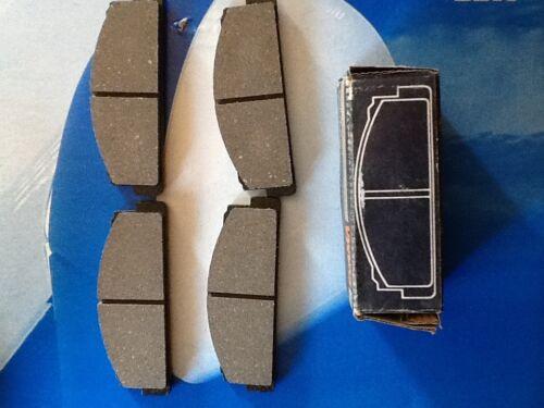 pasticche pastiglie freni anteriori auto Fiat 124 Spider 2.0 fino al 1985