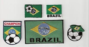 Soccer-Football-Brazil-Brasil-Flag-Embroidery-Patch