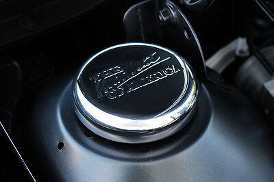 2010-2014 Chevrolet Camaro Strut Tower Cap Covers SS Logo Black