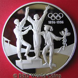 1993-AUSTRALIA-20-PROOF-1oz-SILVER-TRACK-WINNERS-1996-USA-OLYMPICS-ATLANTA-40mm