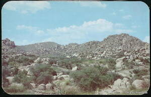 WILCOX-BENSON-AZ-Texas-Canyon-Dragoon-Mountains-Vtg-PC-Old-Arizona-Postcard