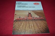 Vicon FC100M 2000M FC1500T 2000T 2500T Field Cultivator Dealers Brochure BWPA