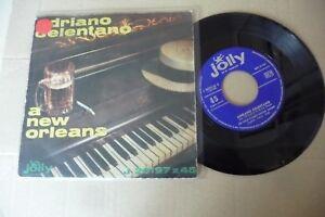 ADRIANO-CELENTANO-034-A-NEW-ORLEANS-DISCO-45-GIRI-JOLLY-Italy-1961-034-RARO