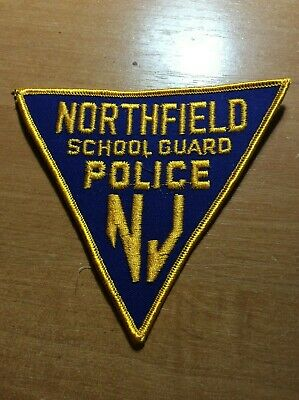 NJ Security vintage PATCH 1960s New Jersey USA SCHOOL GUARD GLEN ROCK