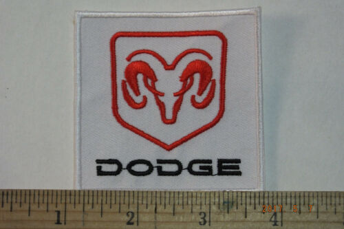 """Dodge Ram Iron-on Embroidered Patch 2.75/""""x2.75/"""""""