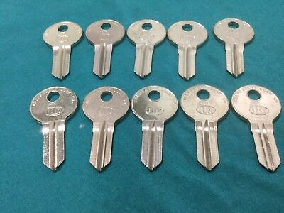 Locksmith Yet Not Vulgar Illinois S1042zp By Ilco Key Blanks Set Of 10