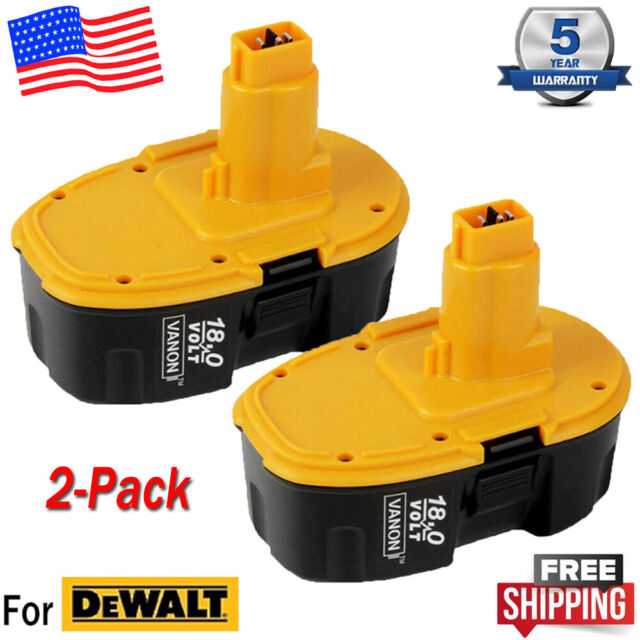 Dewalt 18v Xrp Dc9096 Batteries 2 Dw9116 Nicd Battery Charger For Sale Online Ebay