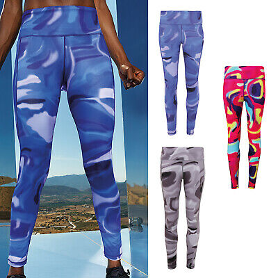 Intellective Tridri Women's Performance Aurora Leggings Yoga Fitness Trouser tr033