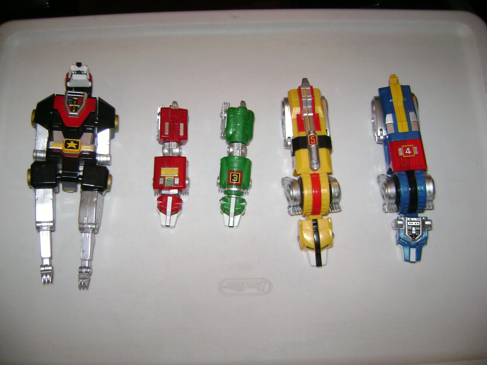 2008 Toynami VOLTRON Lion Force - spare plastic version cats   parts   pieces