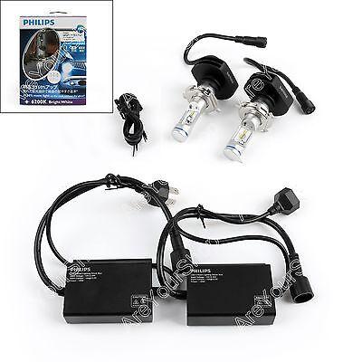 PHILIPS X-treme Ultinon H4 12953BWX2 LED Hi/Lo 6200K 150% 23W White Car Light AU