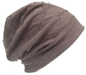 Damenm Mütze Long Slouch Baskenmütze Strickmütze Grobstrick Herbst Winter Trend