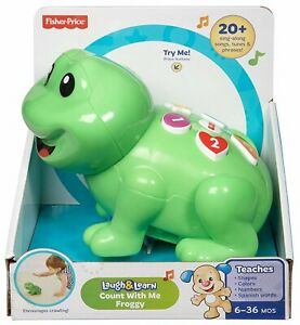 Fisher-Price-Laugh-Learn-Count-With-Me-Froggy-Ages-1-Toy-Boys-Play-Frog-Zoo-Fun