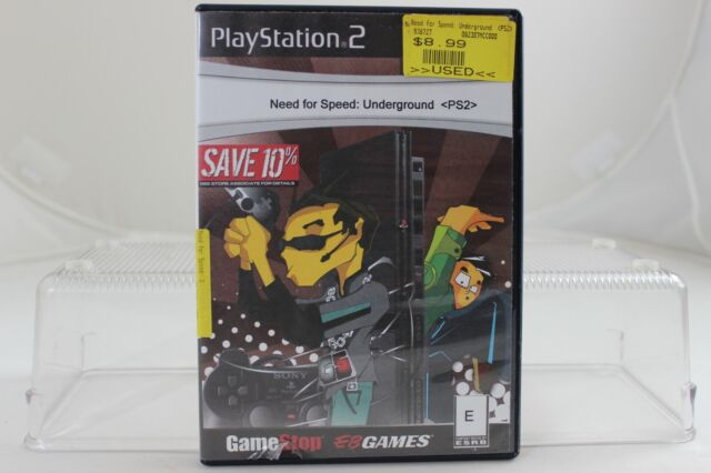 Need For Speed Underground 1 (Sony Playstation 2 ps2) Only Game Tested