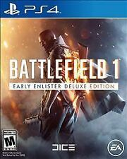 Battlefield 1: Early Enlister Deluxe Edition (PlayStation 4, PS4) - UNUSED CODE