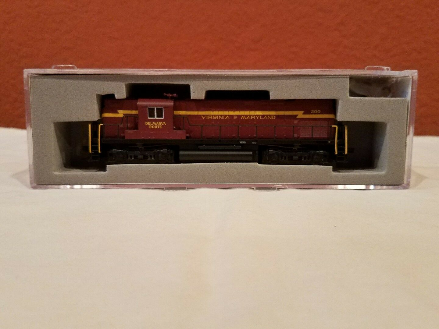 N SCALE ATLAS LOCO  40000152 C420 VIRGINIA & MARYLAND  200 DCC EQUIPPED NEW