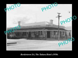 OLD-HISTORIC-PHOTO-OF-BORDERTOWN-SOUTH-AUSTRALIA-THE-TATIARA-HOTEL-c1950s