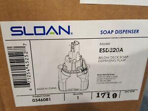 Sloan ESD-320A Below Deck Soap Dispensing Pump