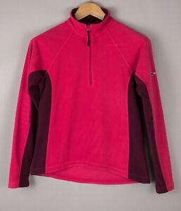 Berghaus Damen Freizeit Reißverschluss Fleece Pullover Sweatshirt GRÖSSE S (10)