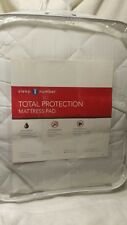 New Sleep Number Total Protection Mattress Pad-Flextop CAL King-White 423817