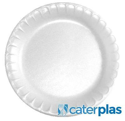 """High Quality Polystyrene Disposable Foam plates 9/"""" For Wedding Parties BBQ Plate"""