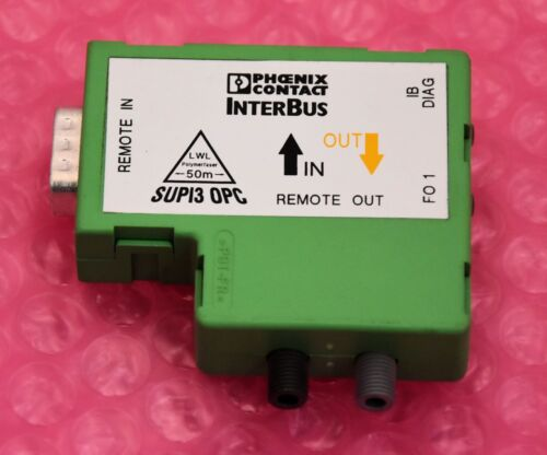Phoenix contac ibs optosub-ma//m//R-LK-opc optosub conector Ord 27 32 635 No.
