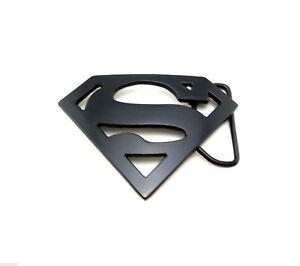 black superman logo novelty metal belt buckle ebay