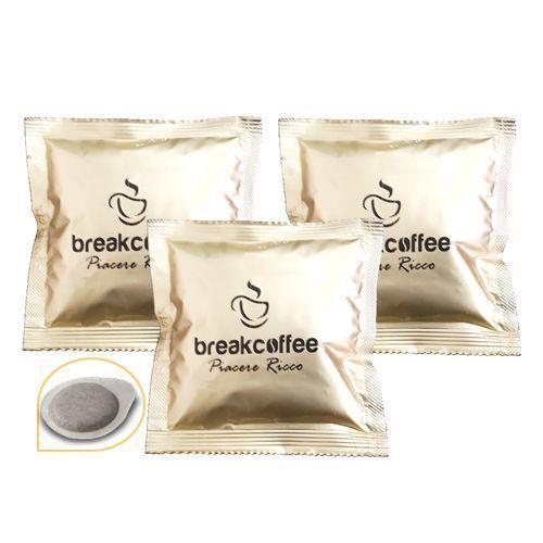 100 Cápsulas Café' Filtro de Papel 44MM Break Coffee Placer Rico Break Shop