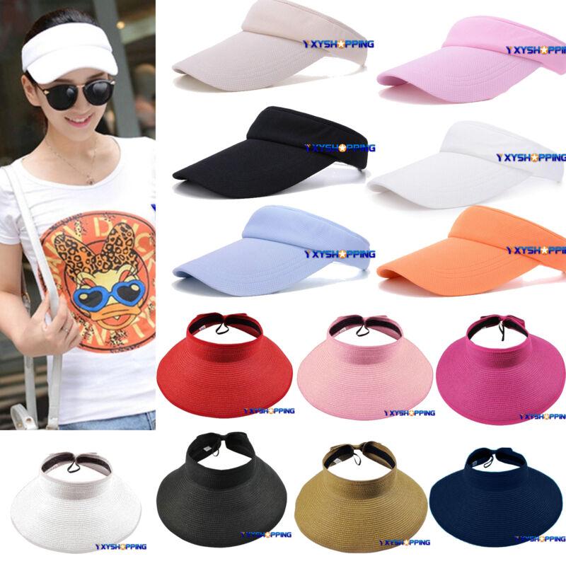 Gut Ausgebildete Damen Sonnenhut Basecap Sunvisor Mütze Hüte Sommerhut Sonnenschutz Cap Kappe