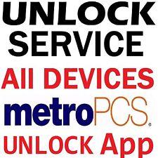 METROPCS USA LG ARISTO LEON STYLO G4 K20 K7 K10 DEVICE UNLOCK  APP SERVICE CODE