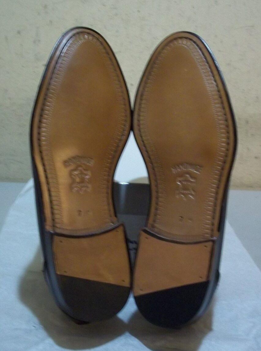 New Prvt. Label: by Mezlan #7201 7 M burgundy (5589) Scarpe classiche da uomo