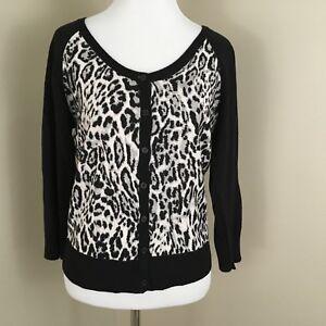 Worthington-Womens-Sz-M-Sweater-Leopard-Print-Cardigan-NWT-P4