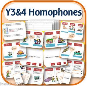 year 3 4 spelling homophones teaching resources iwb worksheets games etc on cd ebay. Black Bedroom Furniture Sets. Home Design Ideas