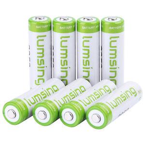 8-X-Rechargeable-AA-Battery-1-2V-2850mAh-Ni-MH-Wiederaufladbare-Batterien-Akku