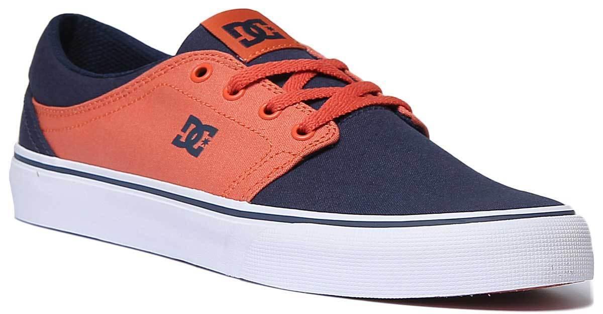 DC scarpe TRASE TX Uomini Uomini Uomini Tela Indigo da ginnastica scarpe da ginnastica 606e6e