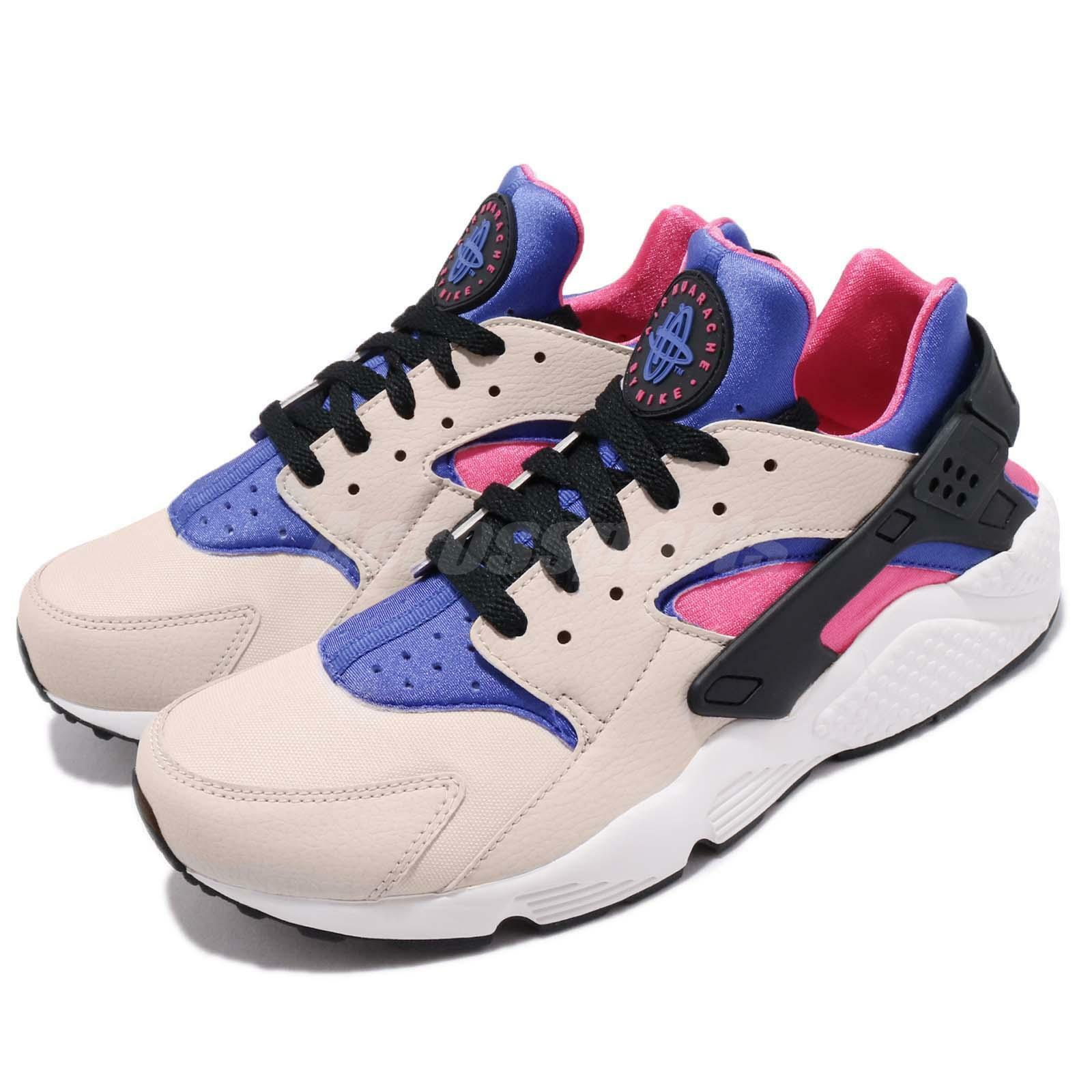 Nike Air Huarache Desert Sand Persian purple Men Running shoes Sneaker 318429-056