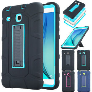 For Samsung Galaxy Tab A 7.0 T280 Tablet Armor Rugged Kids Case Kickstand Cover