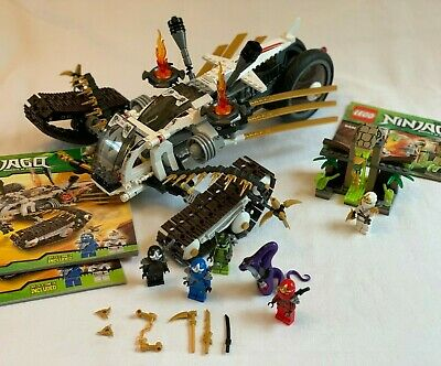 LEGO Ninjago 9449 Ultra Sonic Raider 100%Complete + 9440 ...